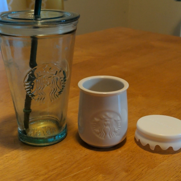 Starbucks | Tumbler & jar
